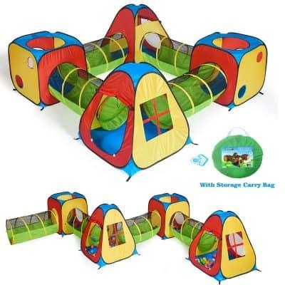 Utex 8-in-1 Pop Up Children Play Tent