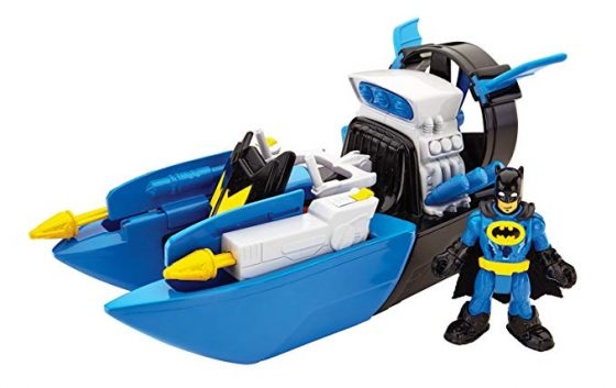 Fisher-Price Imaginext DC Bat Boat and Super Friends
