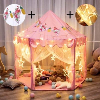 Twinkle Star Princess Castle Play Tent