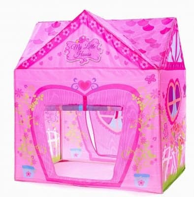 Kids Tent Princess Pink Flower Play Tent