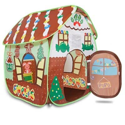 Alpika Toys Gingerbread Play Tent for Kids