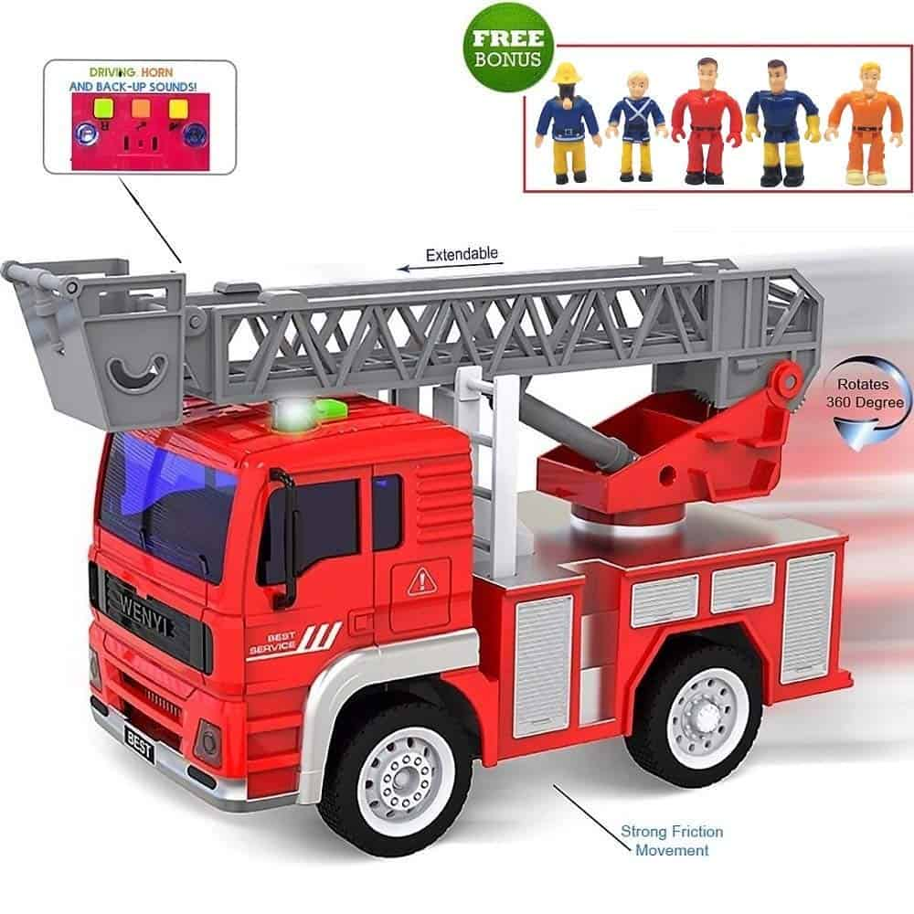 Best Firetruck Toys for Kids & Toddlers to Buy 2019