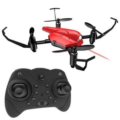 DEERC HS177 RC Quadcopter Battle Drone for Kids