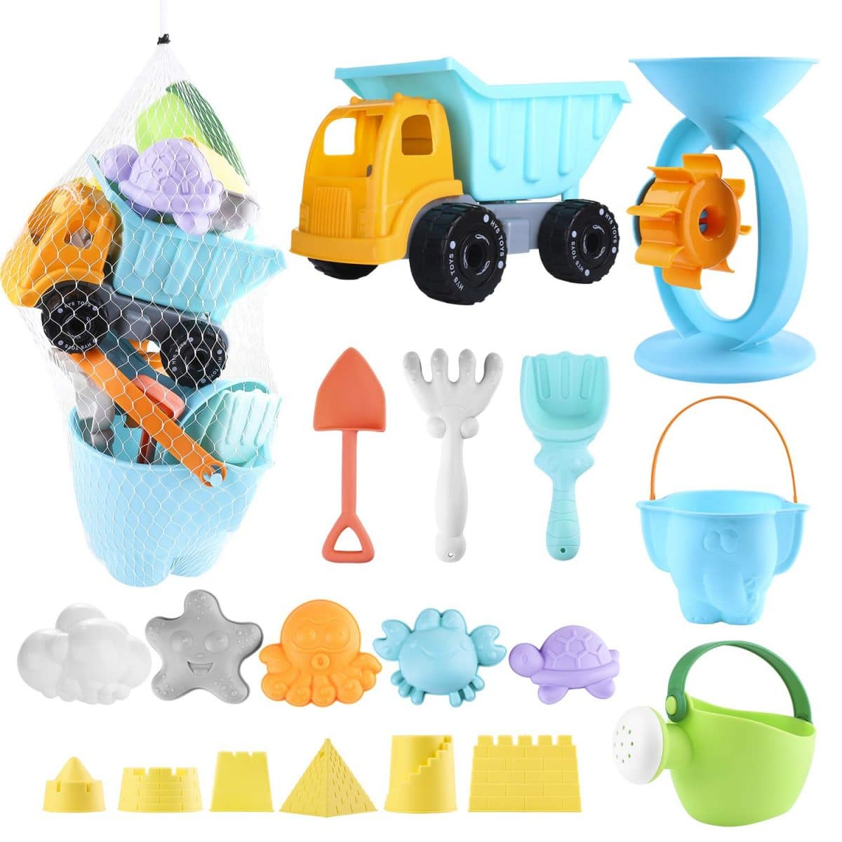 Cute Baby Toys Mini Swimming Ring For Doll Toy Gift Plastic Tool Blue A