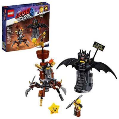 Lego The Lego Movie 2 Battle Ready Batman and Building Kit