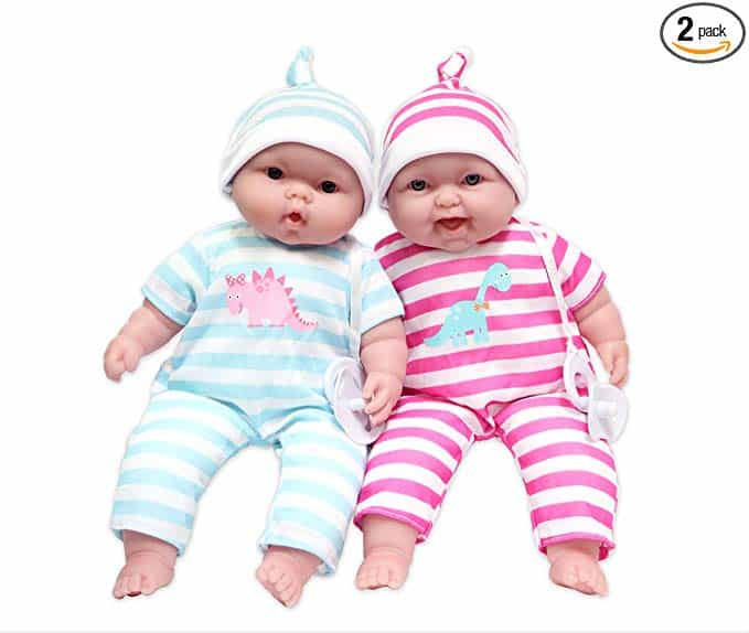 Hispanic Bedtime Baby Doll New JC Toys La Baby Lovable Doll