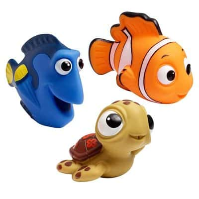 The First Years Disney Squirt Baby Bath Toys