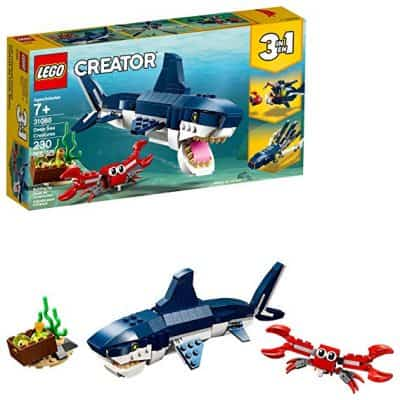 LEGO Creator 3in1 Deep Sea Creatures Kit