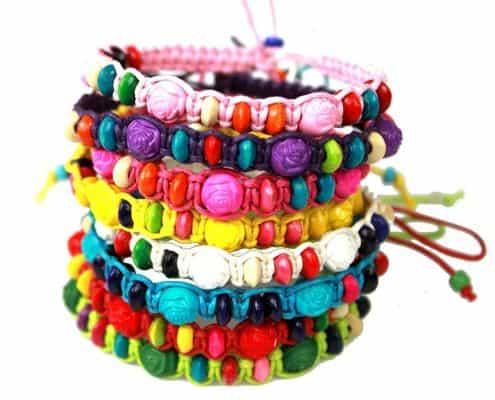 Syleia Colorful Friendship Bracelets Fashion Jewelry Set