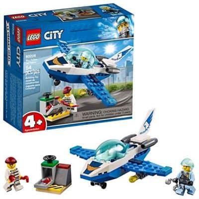 LEGO City Sky Police Jet Patrol 60206 Building Kit