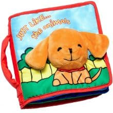 Cloth Book Baby Gift, Interactive Soft Books for Newborn Babies