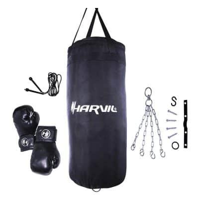 Harvil Kids Boxing Set with 25-Pound Punching Bag