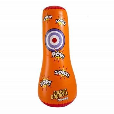 Big Time Toys Socker Bopper Power Bag Standing Inflatable Punching Bag