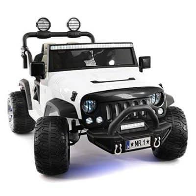 Moderno Kids Explorer 2-Seater Ride-on Truck