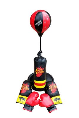 Tripact Children Boxing Set Punching Bag With Gloves