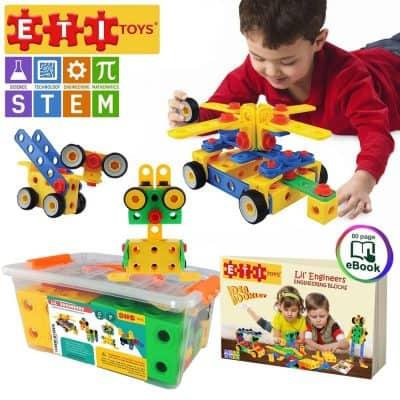 ETI Toys Educational Construction Engineering Building Blocks Set