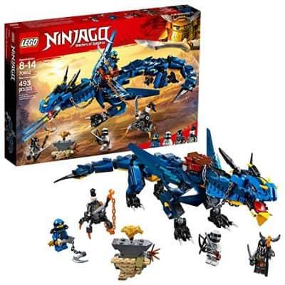 LEGO NINJAGO Masters of Spinjitzu: Stormbringer 70652 Ninja Toy Building Kit