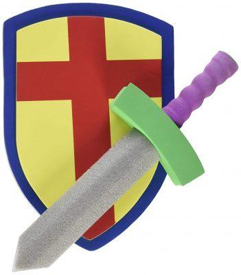 Super Z Outlet Children's Foam Toy Medieval Joust Sword & Shield