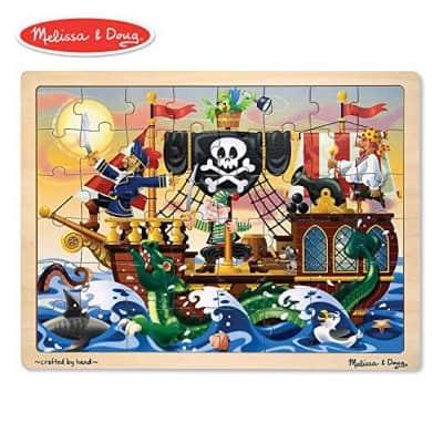 Melissa & Doug Deluxe Wooden 48-Piece Jigsaw Puzzle