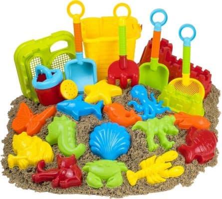 Kangaroo 23pc Kids Beach Toys Set