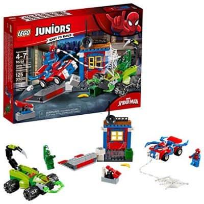 LEGO Juniors/4+ Marvel Super Heroes Spider-Man vs. Scorpion Street Showdown 10754 Building Kit