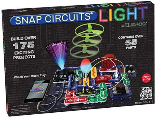 Snap Circuits SCL-175 Lights Electronics Exploration Kit