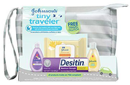 Johnson's Tiny Traveler Baby Gift Set