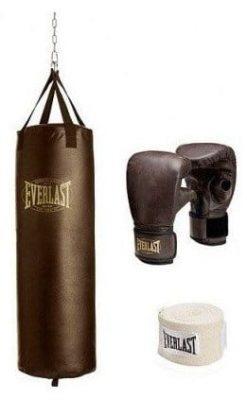 Everlast 70-lb. Vintage Heavy Bag Kit