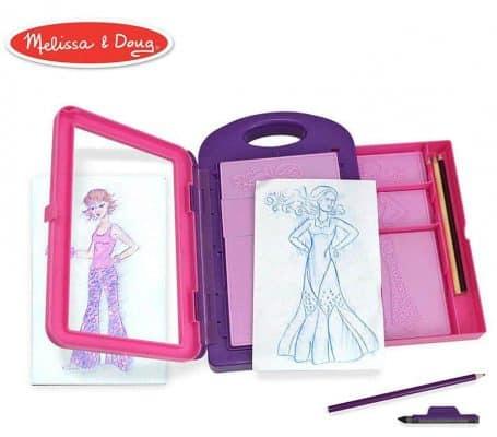 Melissa & Doug Fashion Design Art Activity Kit