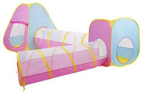 Gojooasis 4pcs Baby Tunnel and Tent