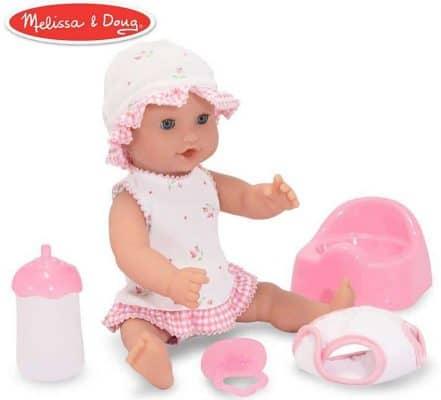 Melissa & Doug Mine to Love Annie 12-Inch Drink & Wet Doll
