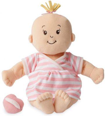 Manhattan Toy Baby Stella Peach Soft First Baby Doll