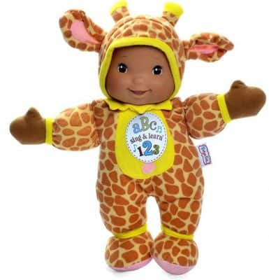 Baby's First Giraffe Sing & Learn Singing Baby Doll
