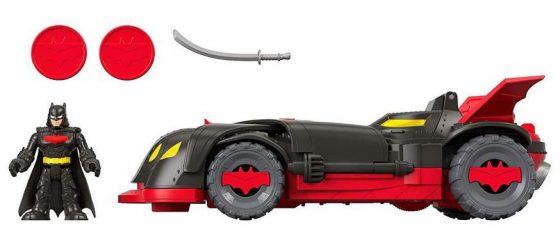 DC Super Friends and Ninja Armor Batmobile by Fisher-Price
