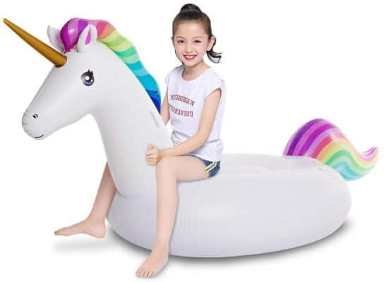 Jasonwell Big Inflatable Unicorn Pool Floatie