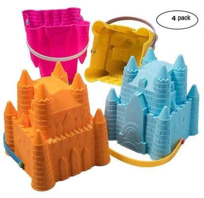 Top Race Sand Castle Pail Buckets