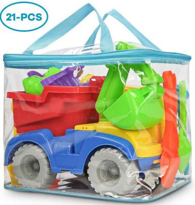 Krones Beach Toy Truck with Bag