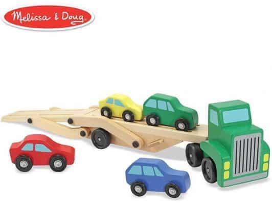 Melissa & Doug Car Carrier Truck