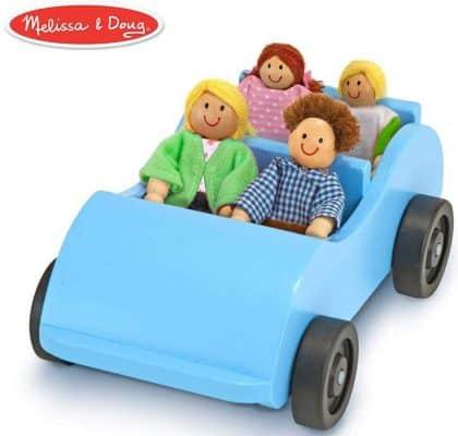 Melissa & Doug Road Trip Wooden Toy Car