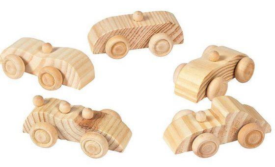 Fun Express - Wooden Car Assortment