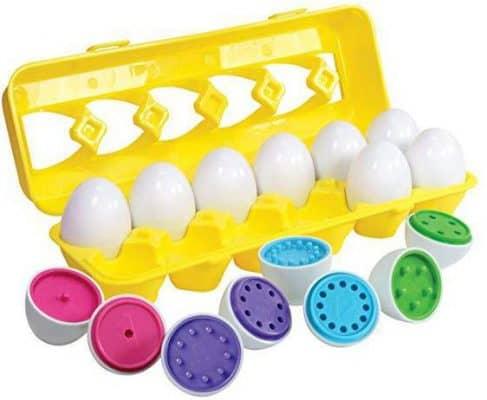 Kidzlane Color Matching Egg Set - Toddler Toys