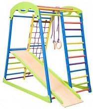 Dani LLC Wooden Coloured Indoor Playground