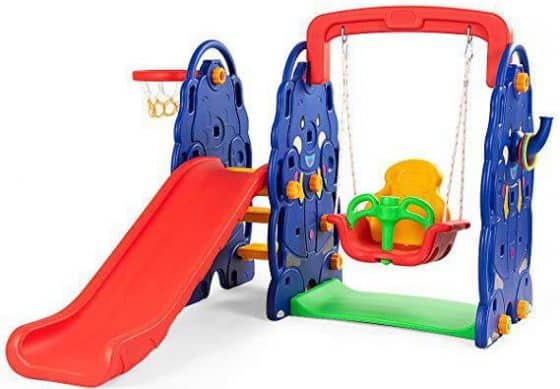 Costzon Toddler Climber and Swing Set