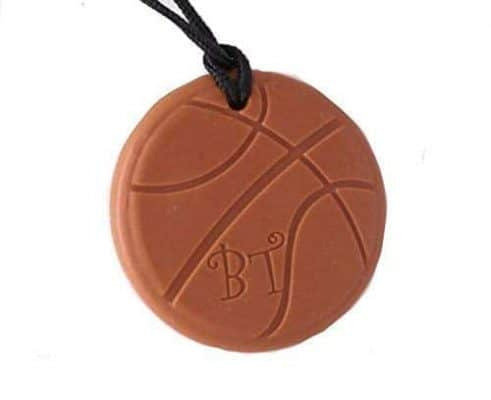 Best friend Toys Basketball Chew Necklace