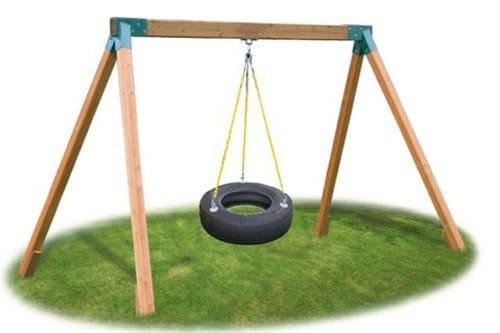 Eastern Jungle Gym Heavy Duty Tire Swivel for Tire Swing Attachment