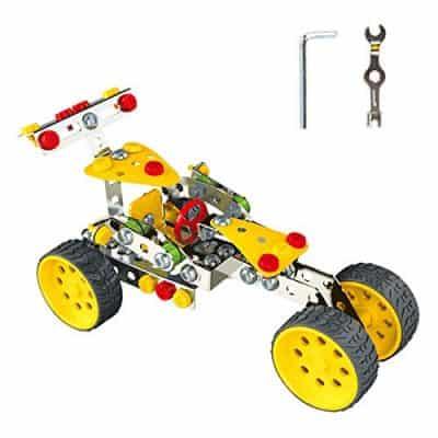 KAIM DIY F1 Metal Model Building Kit Erector Set Build and Play Toy Set