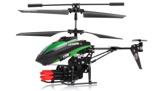 Xheli SkyCo 3.5 Channel Missile Shooting RC Helicopter