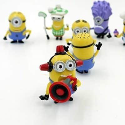 MEKBOK Despicable Me Minions Set of 8 Action Figures