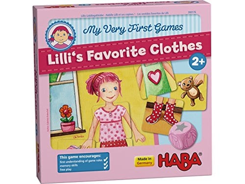 HABA My Very First Game- Lilli's Favorite Clothes Memory Game
