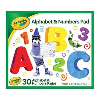 Crayola Alphabet and Number Pad ABC/123 Tablet